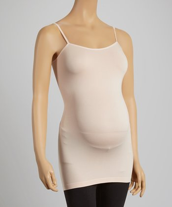 Coral Pink Maternity Camisole - Women