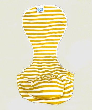 Wee Nurture Green Stripe Milkmade Nursing Cover - Women