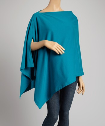 bizzy babee Teal Nursing Cover