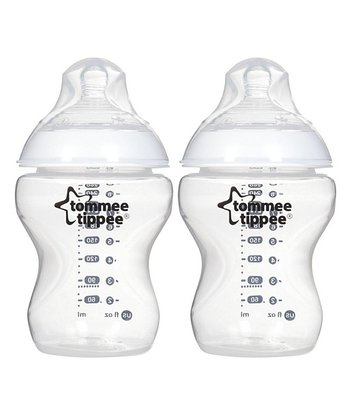 tommee tippee Clear 9-oz. Bottles - Set of Two