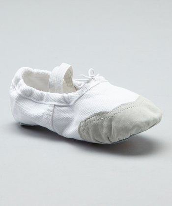 White Dance Slipper