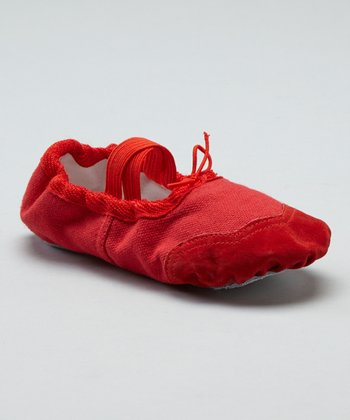 Red Dance Slipper