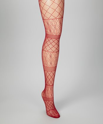 Ruby Lace Tights