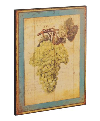 Grapes Wood Wall Art