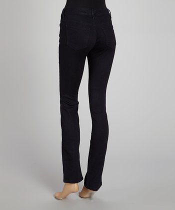Sutton Wash Emma Straight-Leg Jeans