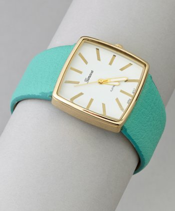 Mint Square Watch