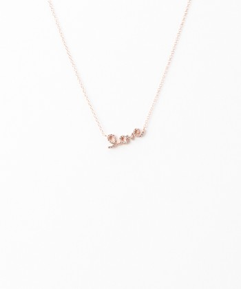 Rose Gold Small 'Love' Necklace