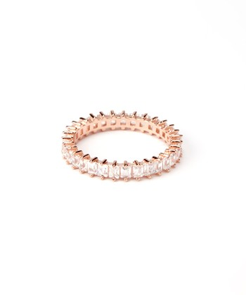 Rose Gold Single-Strand Eternity Ring