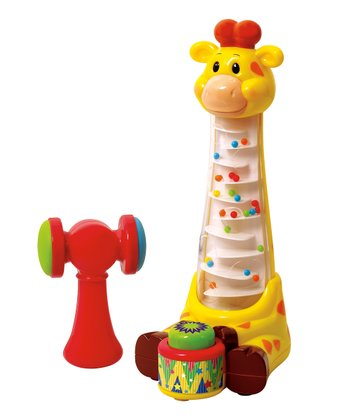 Giraffe Marbles Play Set