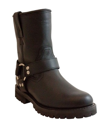 Black Full-Grain Leather Boot