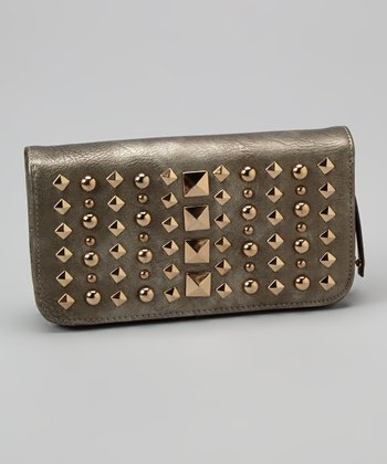 Pewter Studded Wallet