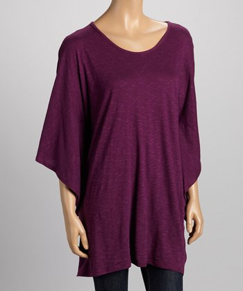 Purple Dolman Top