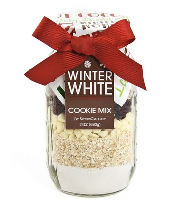 Holiday White Chocolate & Cranberry Cookie Mix - Set of Two