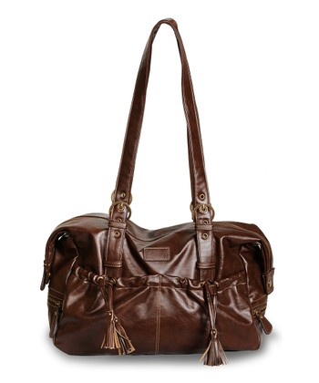 Brown Shanti Diaper Bag