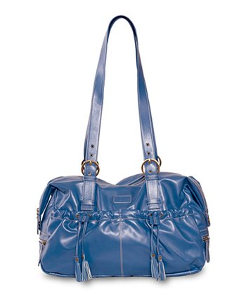 Blue Shanti Diaper Bag