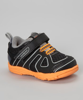 Black & Orange Jupiter Sneaker