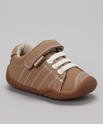 Light Brown Triple Lace Jake Sneaker