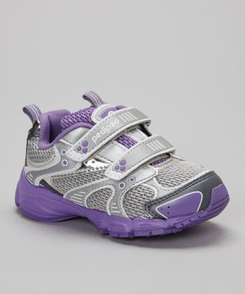 Pewter & Purple Venus Sneaker