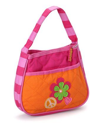 Peace Quilted Purse