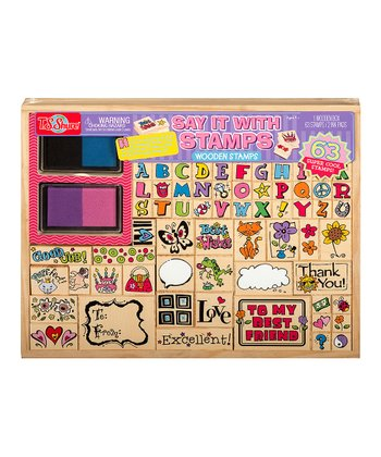 Colorful Stamp Set