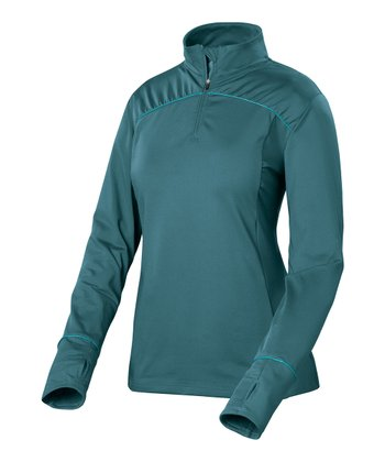 Deep Ocean Movia Zip Top
