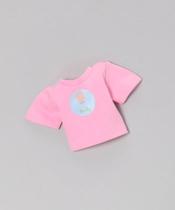 Pink Lollipop Personalized Doll Outfit