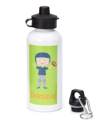 Football Player Personalized 20-Oz. Water Bottle