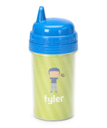 Football Player Personalized Sippy Cup