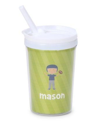 Football Player Personalized Toddler Cup