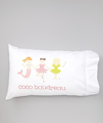 White Princess Personalized Pillowcase
