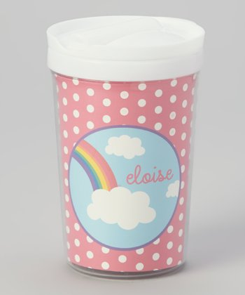 Rainbow Personalized Toddler Cup