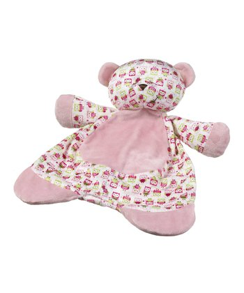 GANZ Pink Sleepy Time Bear