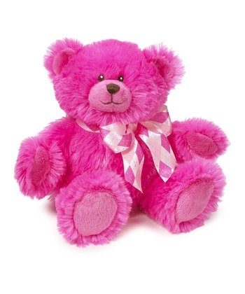 Hot Pink Harper Bear Plush Toy