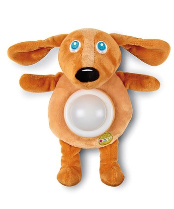 Brown Dog Night-Light Plush Toy