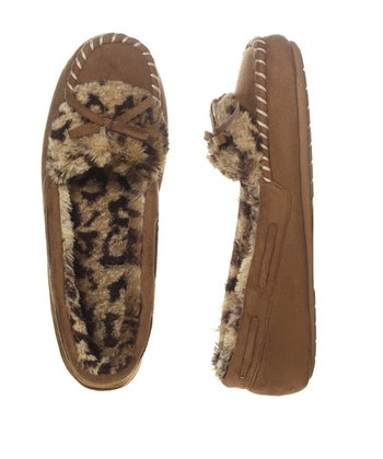 Chestnut & Black Suede Moccasin