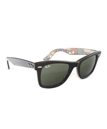 ray sunglasses  ray-ban havana texture