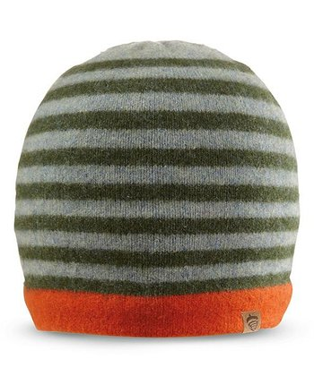 Green Cary's Wool Beanie