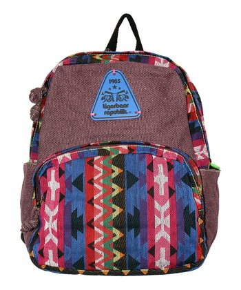 Grape Rainbow Dr. Jones Backpack