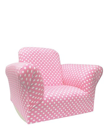 Light Pink Dot Standard Rocker