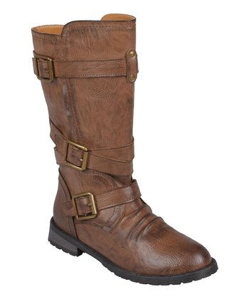 Brown Faith Boot