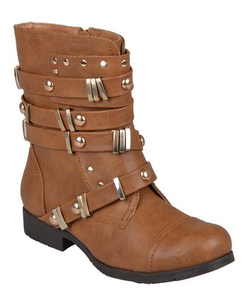 Chestnut Brooklyn Boot
