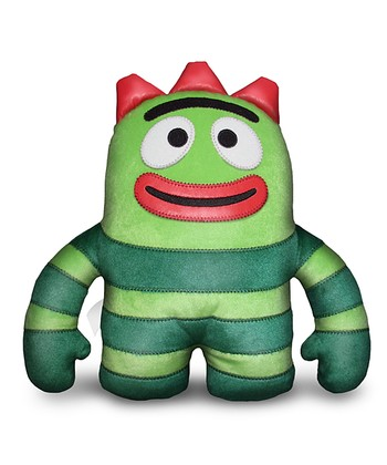 Brobee Yo Gabba Gabba! Designer Plush Pillow Doll