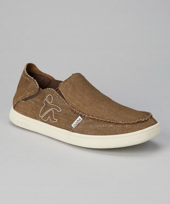 Brown Evo-Lite Slip-On Sneaker - Men