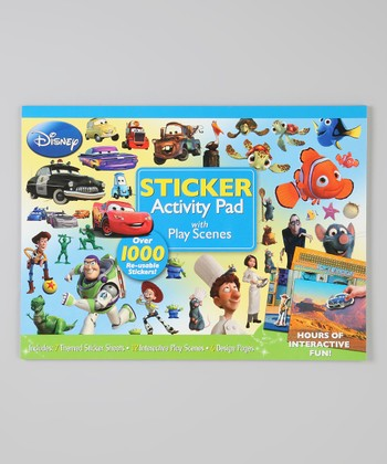 Disney Pixar Activity Sticker Pad