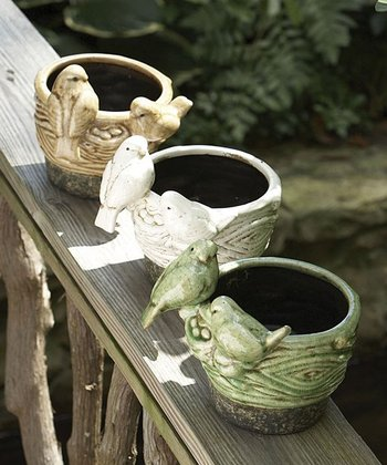 Sparrow Nest Pot Set