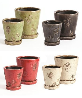 Flower Power Pot Set