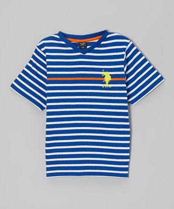Cobalt Stripe Tee - Toddler & Boys