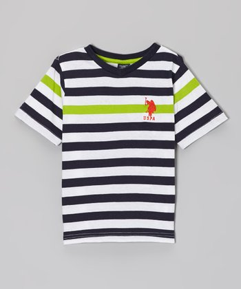 Navy Stripe Tee - Toddler & Boys