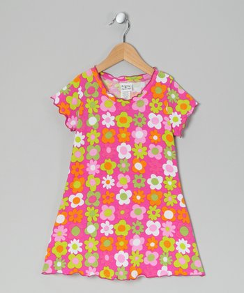 Citrus Fab Floral Swing Dress - Infant, Toddler & Girls