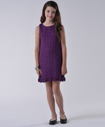 Plum Boucie Dress